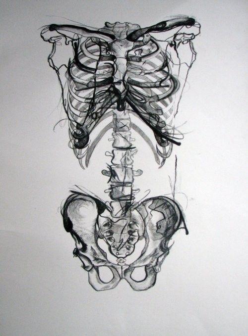 Nothing But Bones Kresba Lidska Postava Pinterest Art
