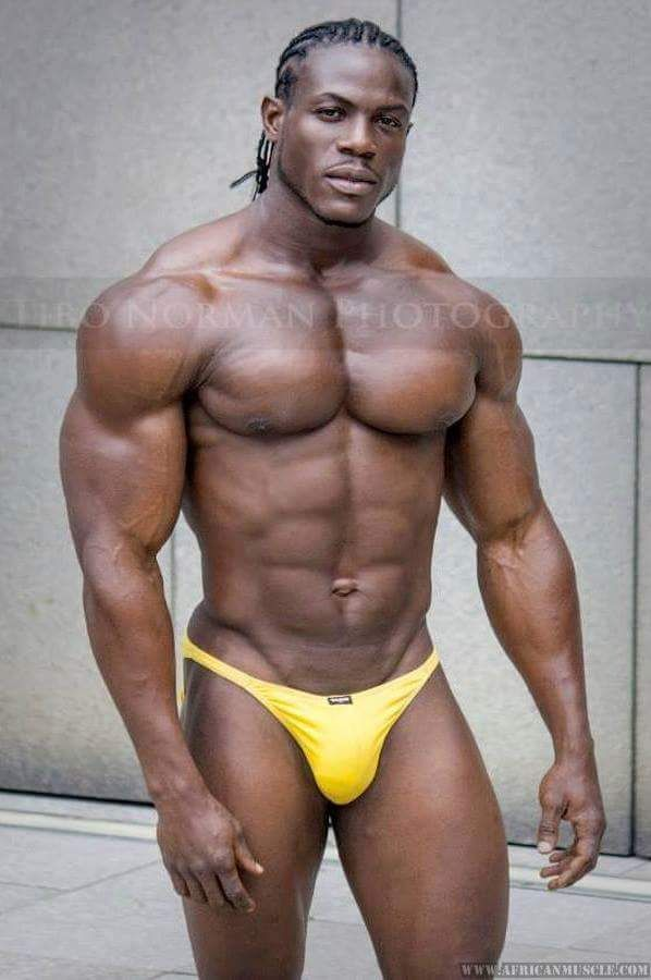 Black muscle hunks tumblr