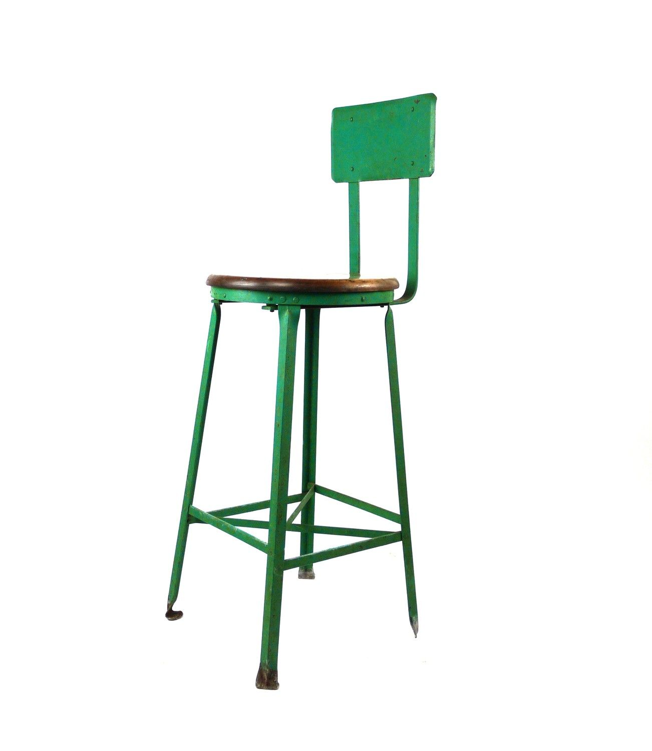 Cool Vintage Industrial Metal Atelier Drafting Stool Kitchen Machost Co Dining Chair Design Ideas Machostcouk