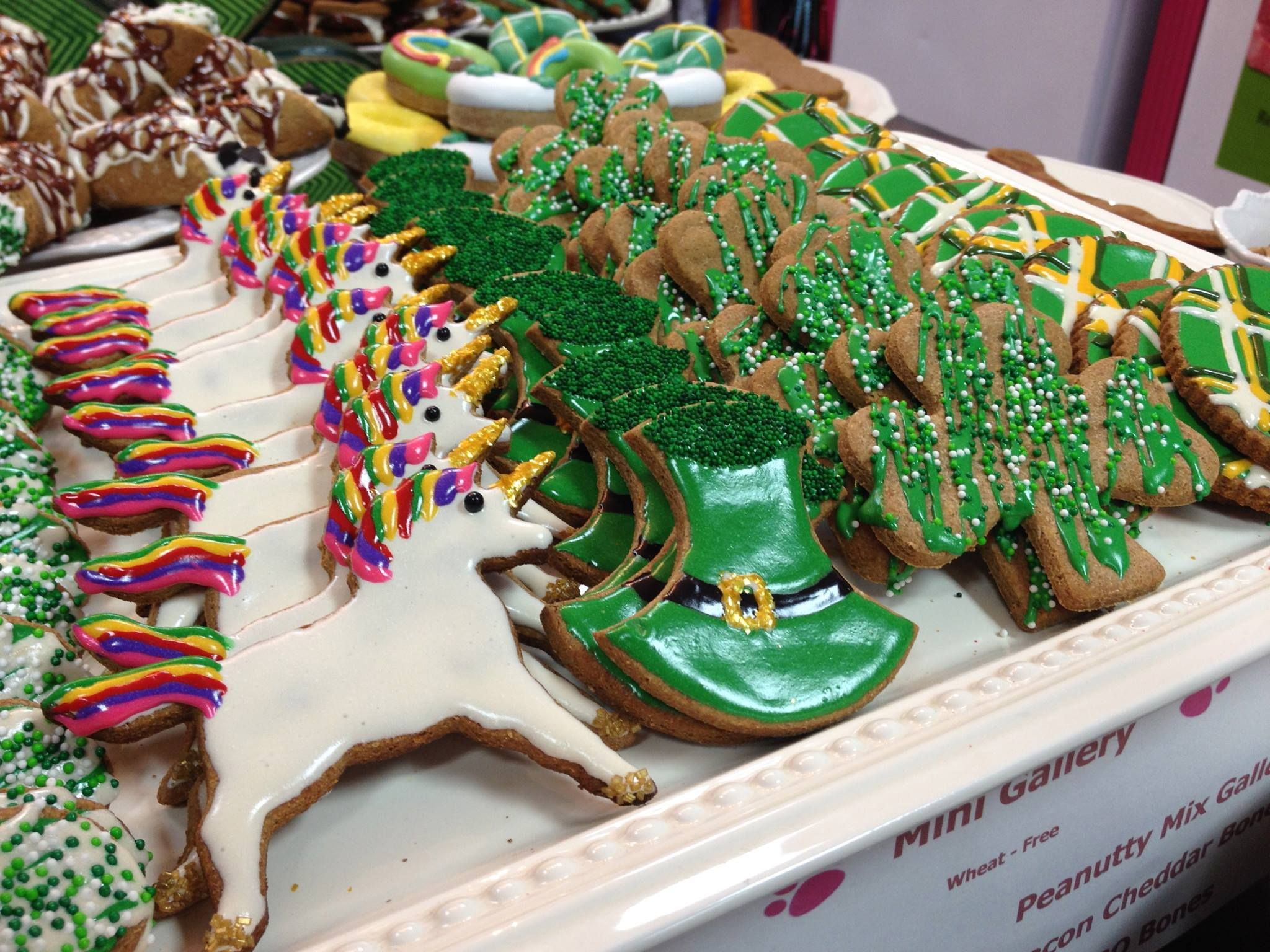 The best unicorn cookie design I\'ve ever seen is actually a dog ...