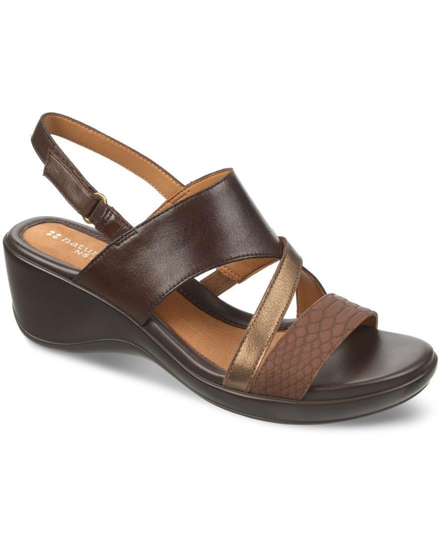 Naturalizer Tenor Platform Wedge Sandals   Bayan ayakkabı ve