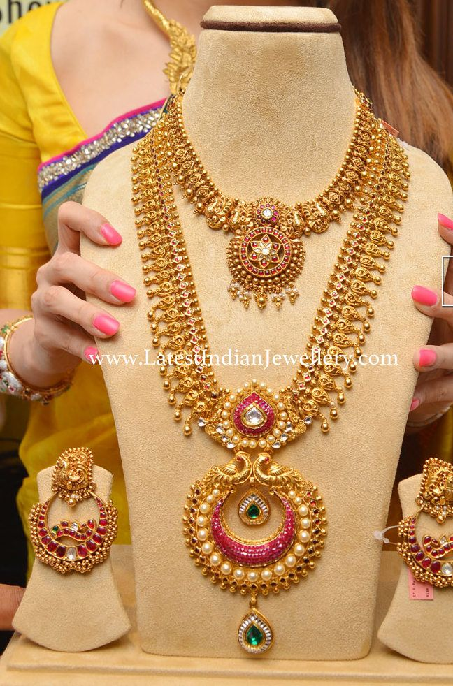 Grand Haram Design for Weddings | Weddings, Jewel and Indian jewelry