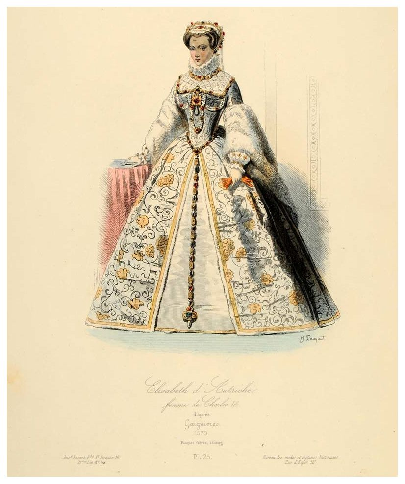 1570 Elisabeth of Austria