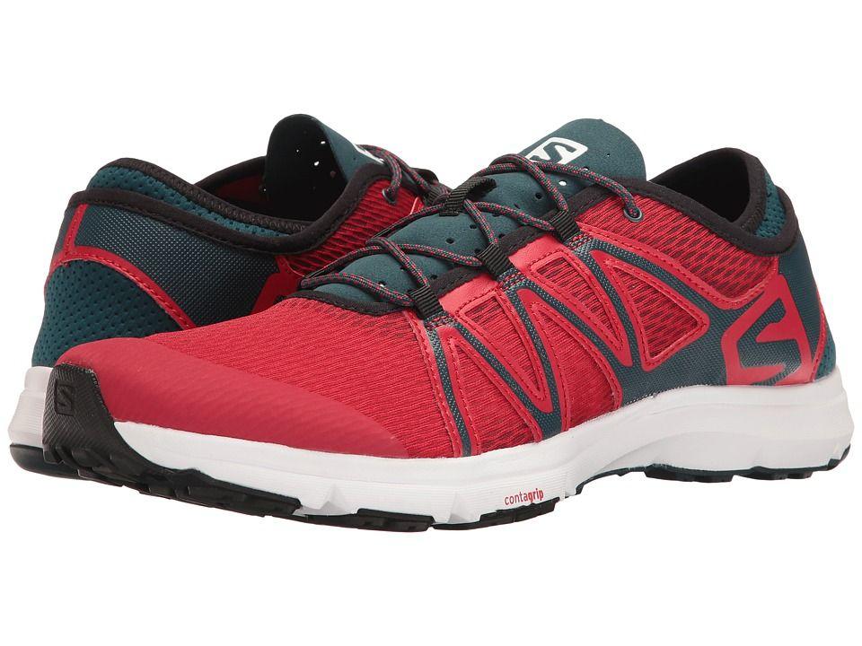 Zapatillas de correr de malla para hombre, Barbados Cherry, 13 M US
