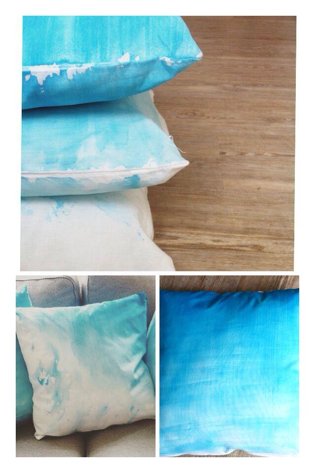 mit wasserfarben auf stoff malen waschbar wie ihr mit. Black Bedroom Furniture Sets. Home Design Ideas