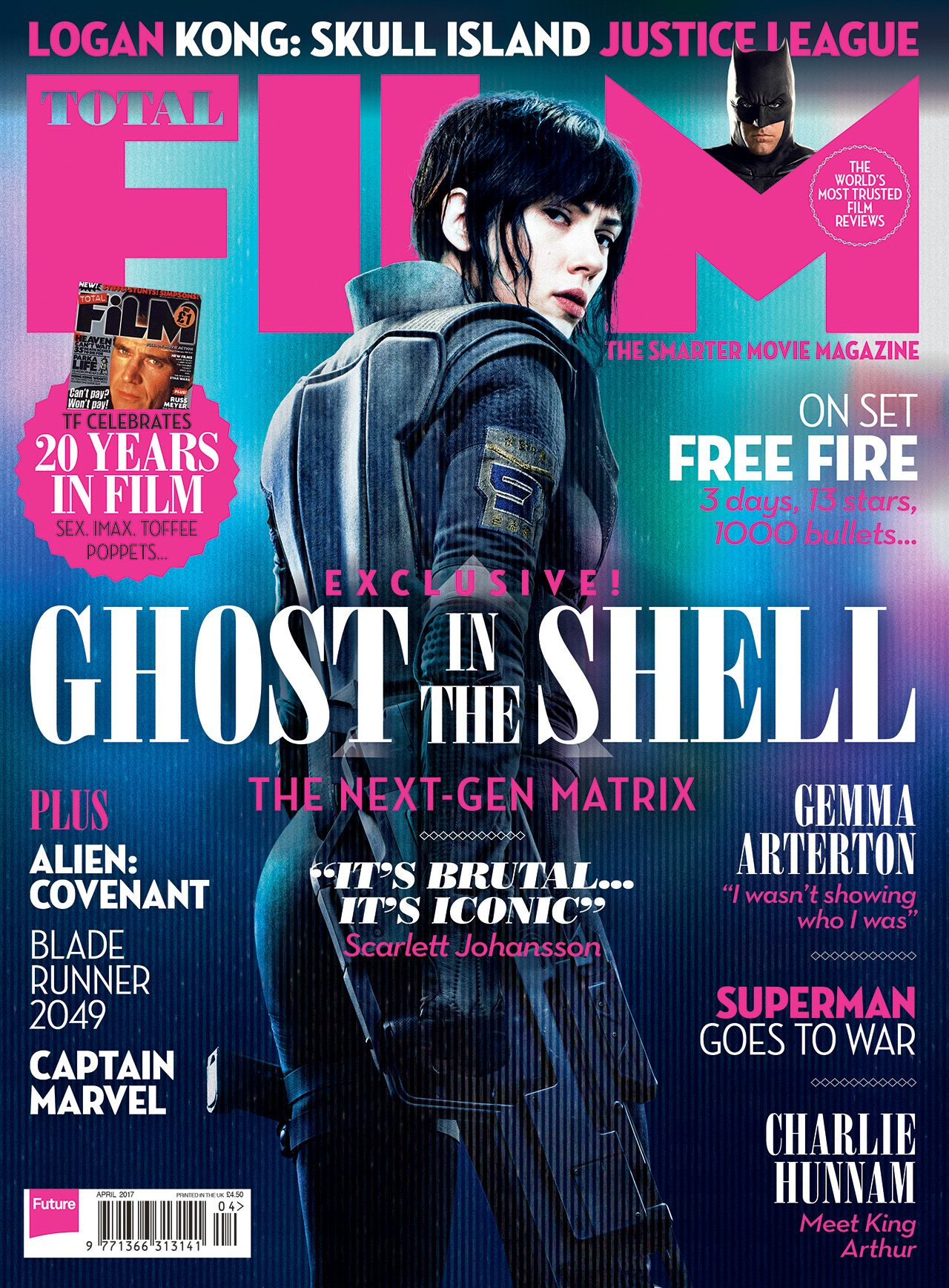 Shazam Flies On To The Cover Of Total Film Magazines New Issue On