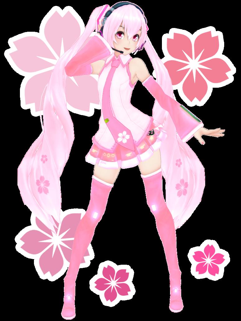 sakura miku mmd | KasokuSato Sakura Miku DL by Xoriu on DeviantArt
