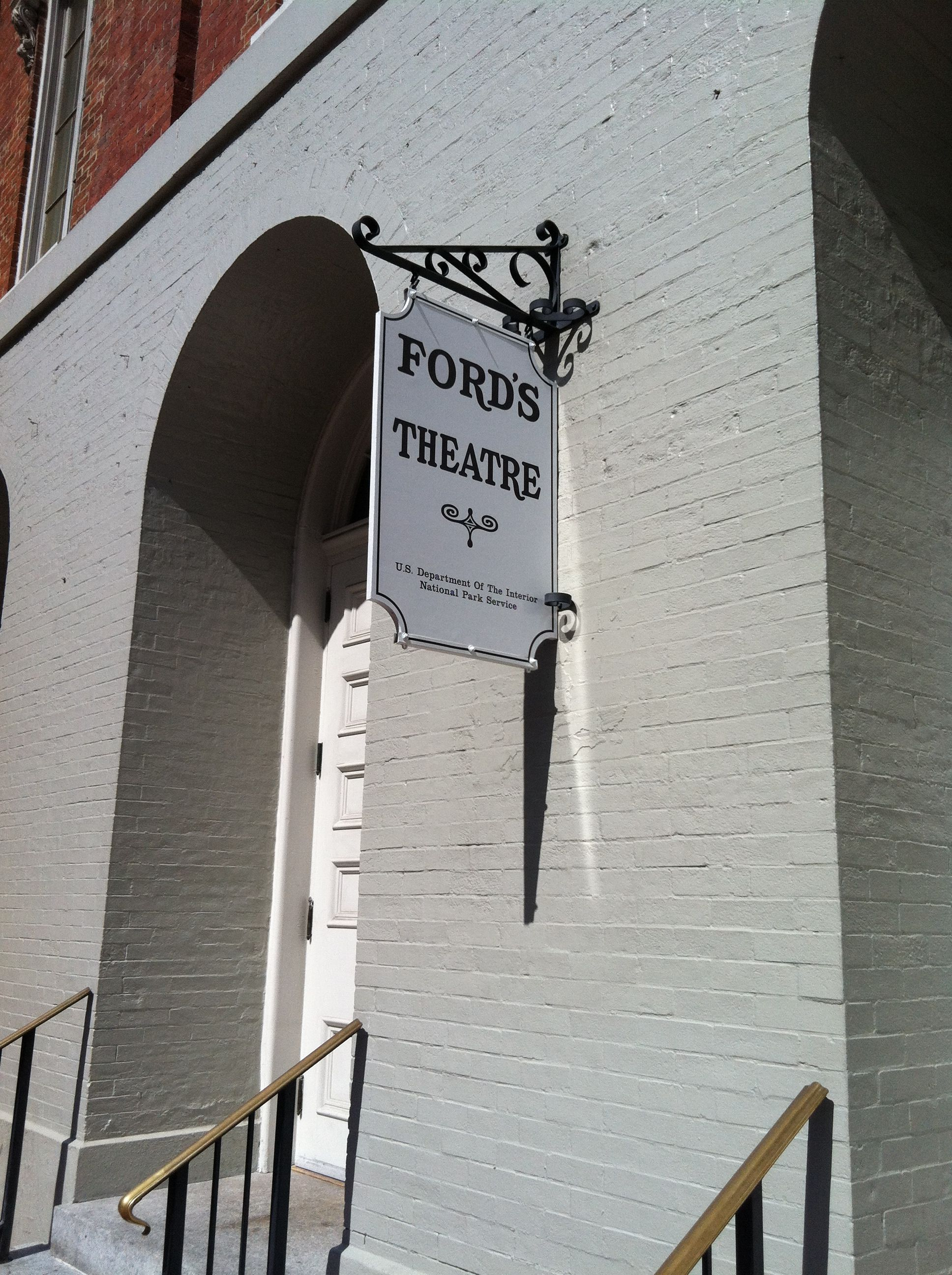 Ford's Theatre. Washington DC. Such a historic place in the Washington Metropolitan Area.
