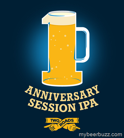 Two Roads Anniversary Session IPA Coming 12/18