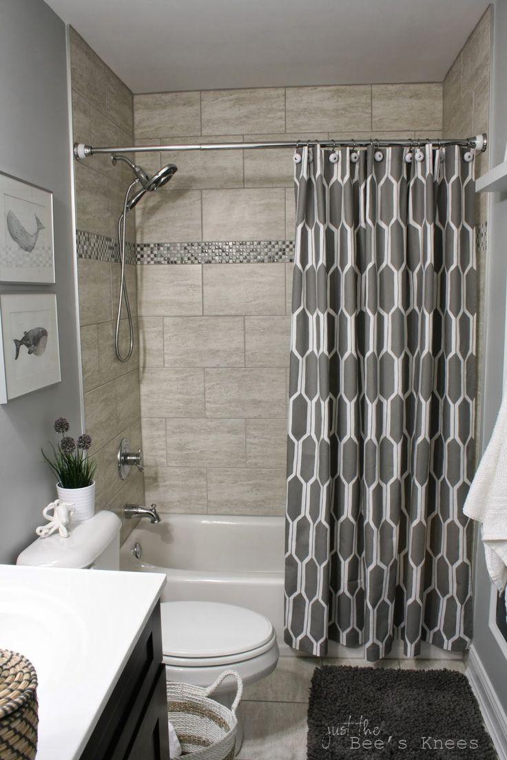 Renovieren Badezimmer Ideen Verwenden Sie Cool Decor Vorhernachher Kleinesbad Renoviere Small Bathroom Remodel Bathroom Tub Shower Bathroom Tub Shower Combo