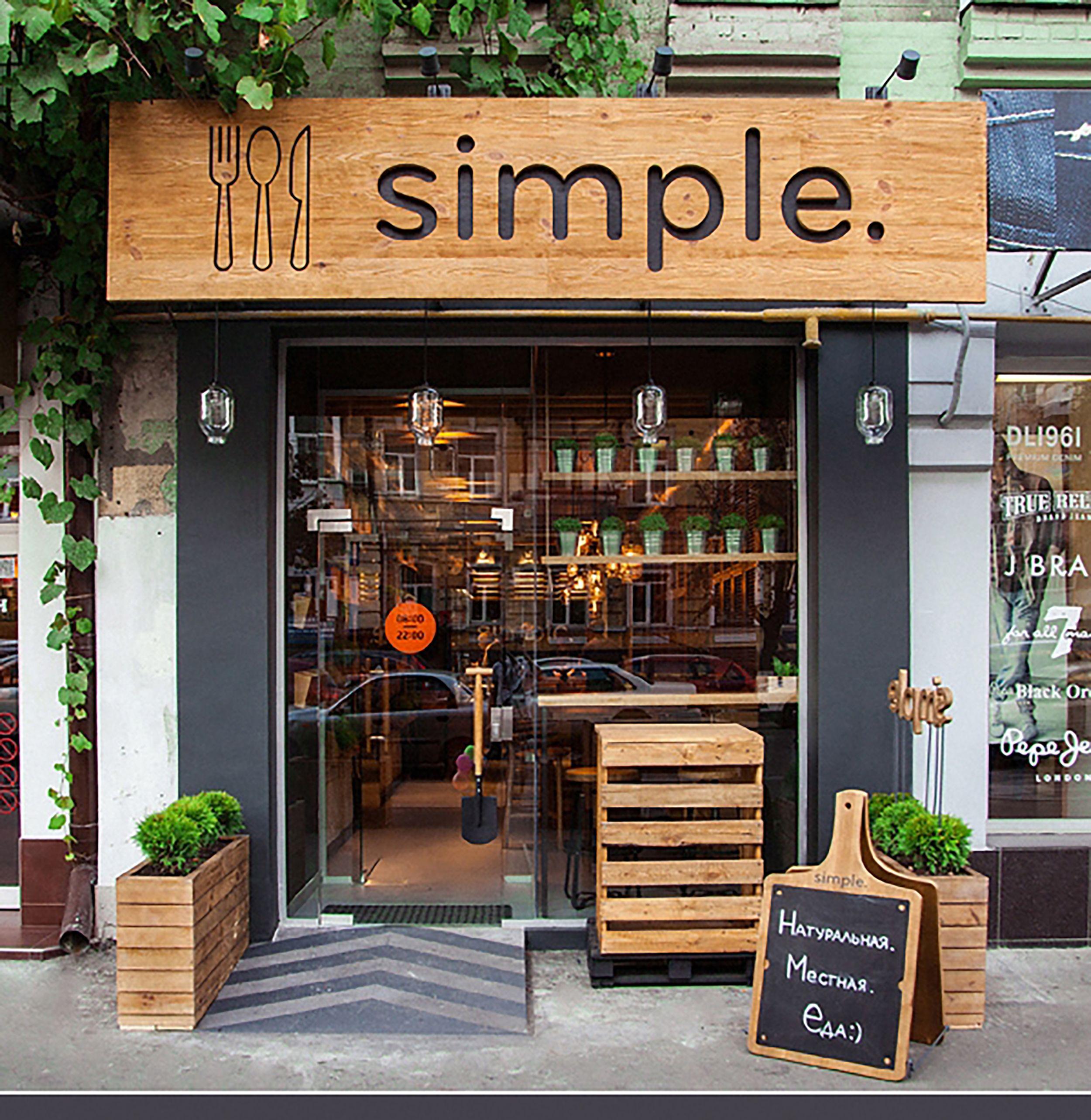 Simple Small Restaurant Design Resturant Ideas Exterior Cafe Also Pop Up Rh  Pinterest