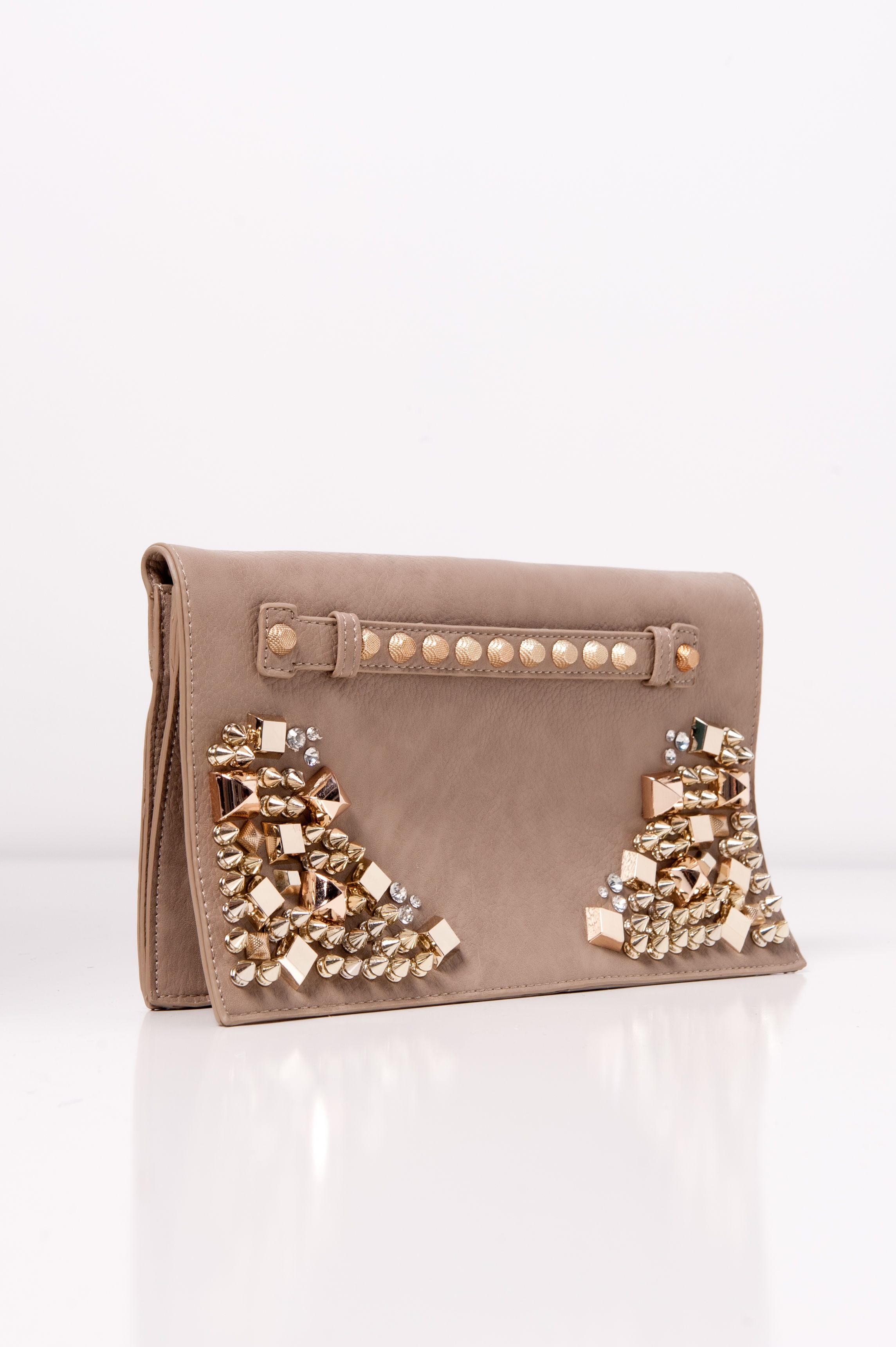 Studded Clutch #swoonboutique