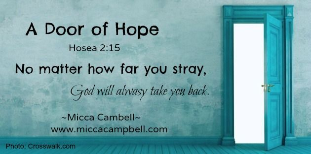 Need a way back to God's loving care? www.miccacampbell.com