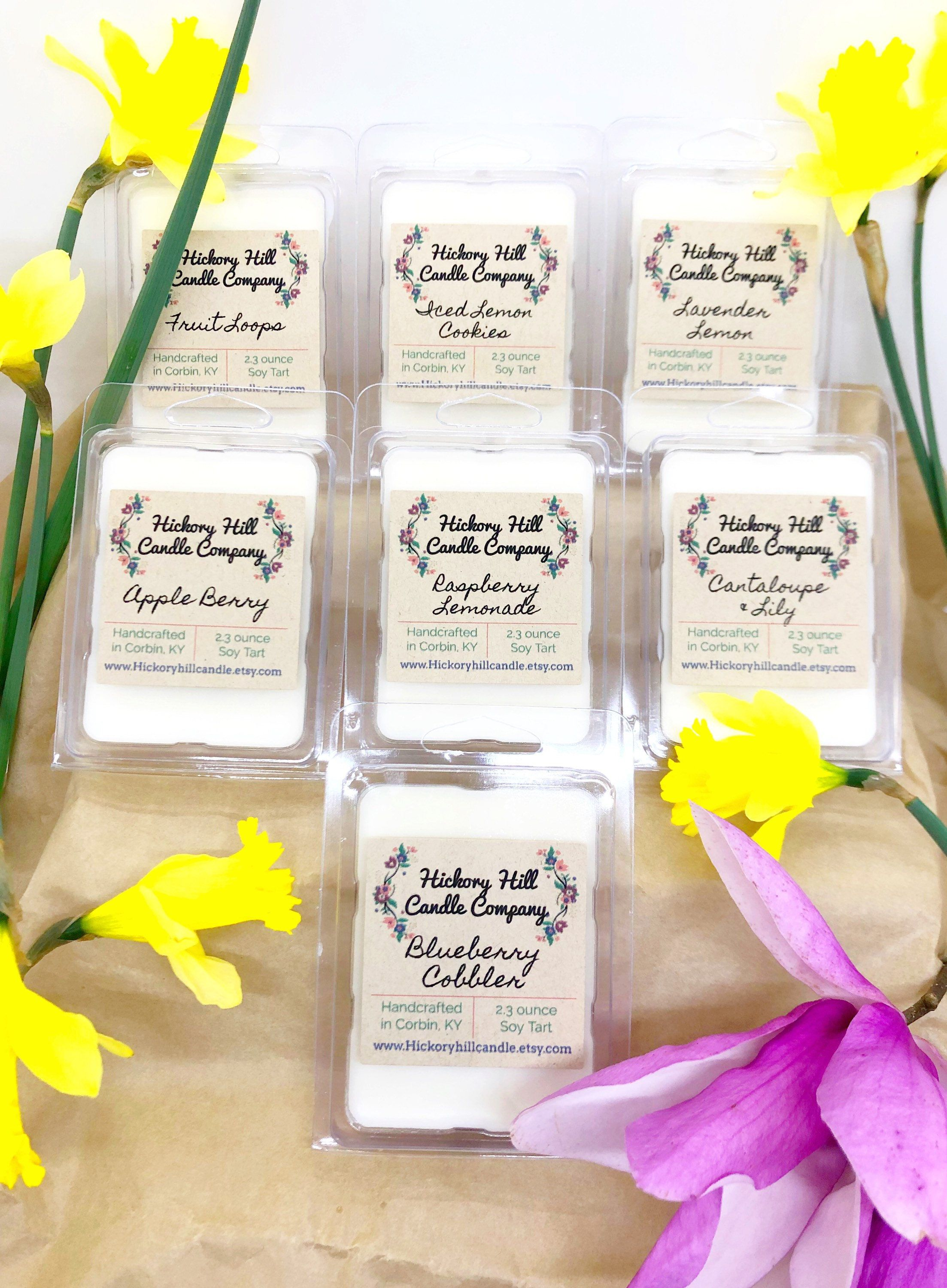 Soy Tart Melts Choose Your Own Scent Handmade Spring Scents