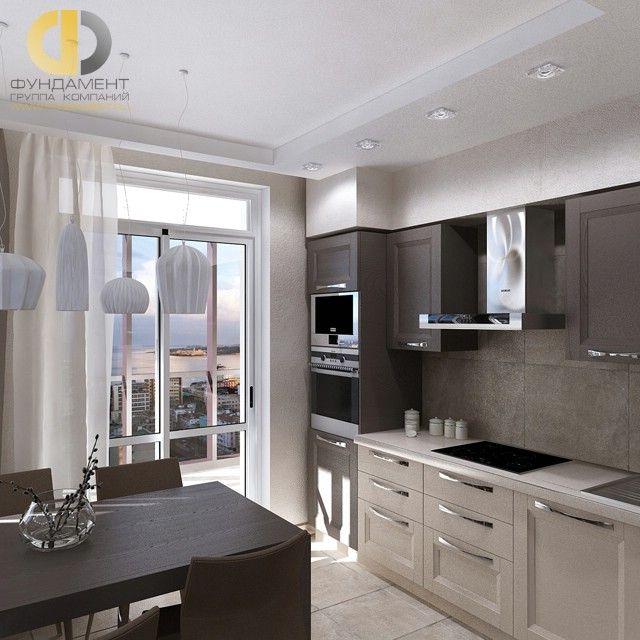 дизайн кухни 12 кв м фото 7