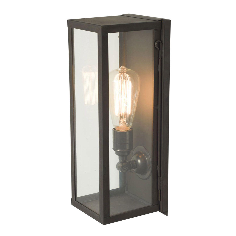 luminaire exterieur verre