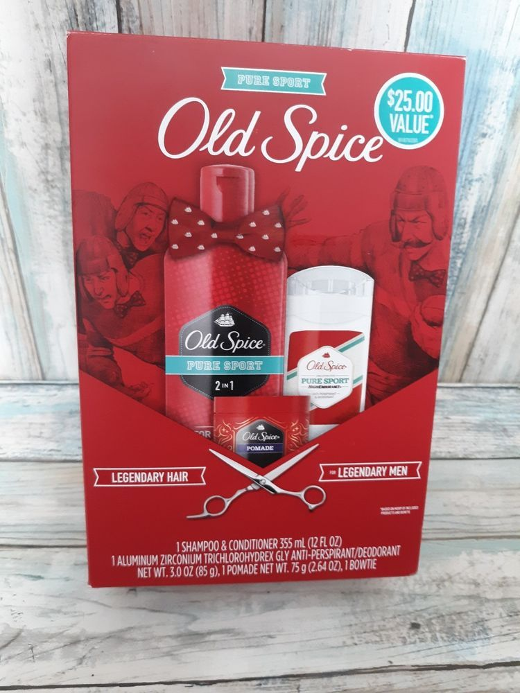 Old Spice Pure Sport Gift Set 2/1 Shampoo Conditioner