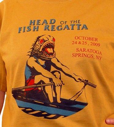 head of fish caramel-shirt