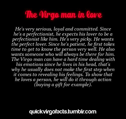 How To Tell A Virgo Man Is In Love