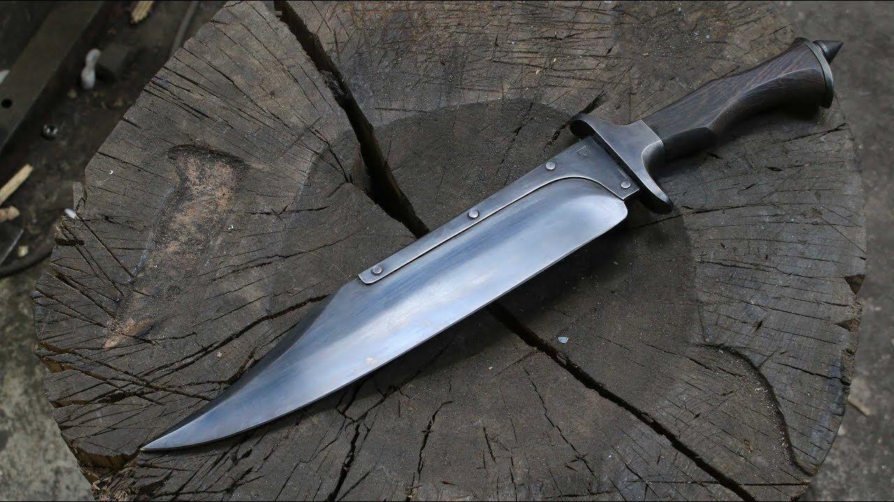 Making A Fighter Knife Set Part 1 Bowie Knife Knife Sets Knife