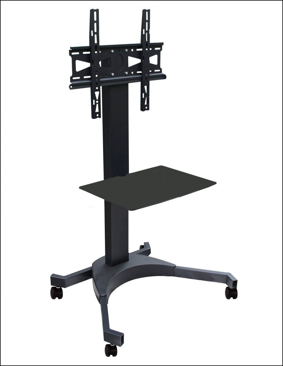 Portable Tv Stand On Wheels Tv Stand On Wheels Portable Tv