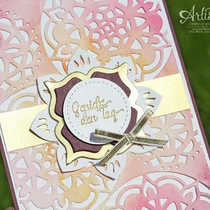 Stampin Up Katalog 2018, Stempelset Schönheit des Orients, Orientpalast Stampin, Artisan Bloghop On Stage, Stampin Up Blog deutsch, stempel einfach,