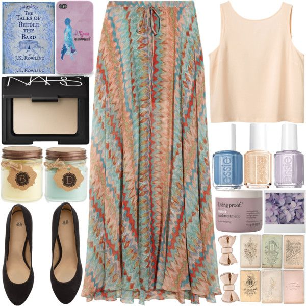 A fashion look from March 2015 featuring Monki tops, Haute Hippie skirts and H&M shoes. Browse and shop related looks.