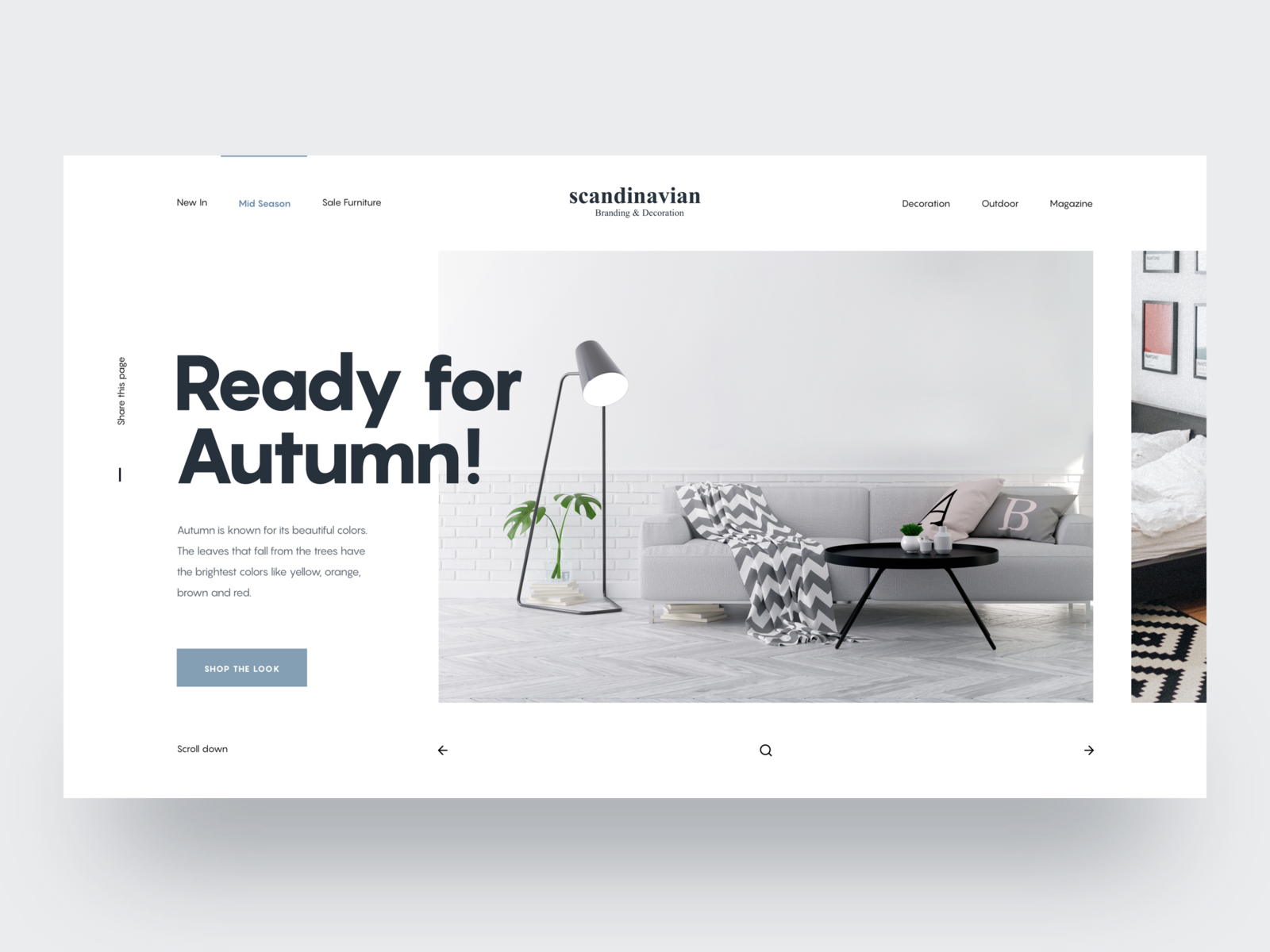 Scandinavian Layout Exploration Luxury Hero Header Tranmautritam Vietnam Web Designer Clean Website Clean Layout Landi Layout Design Layout Portfolio Design
