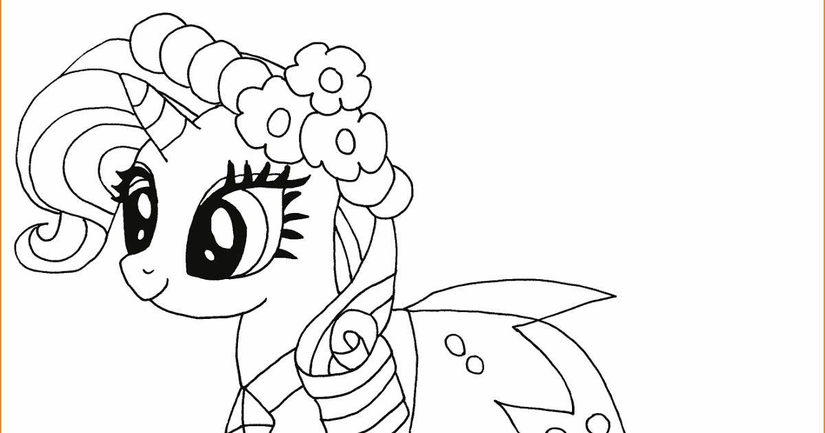 15 Gambar Kartun Yg Belum Diwarnai 29 Gambar Mewarnai My Little Pony Anak 2020 Marimewarnai Com Download Gambar Mewarnai Lol Di 2020 Kartun My Little Pony Gambar