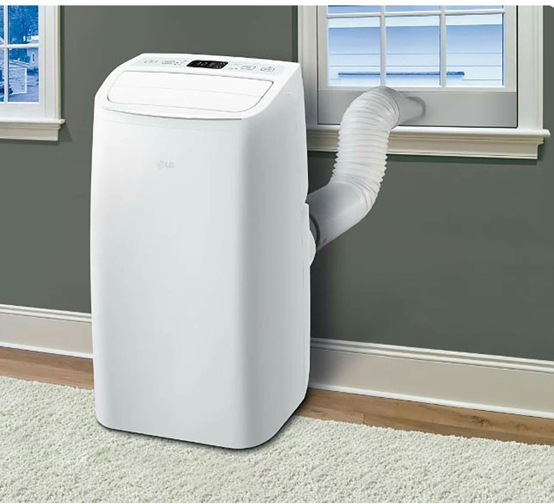 Lg Lp0818wnr Portable White 115v Air Conditioner Rooms Up To 200 Sq Portable Air Conditioner Air Conditioner Small Portable Air Conditioner