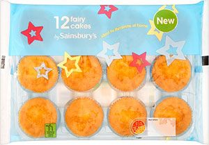 12 Vanilla Fairy Cakes 100 Or Chocolate 100 Sainsbury Tesco Selll