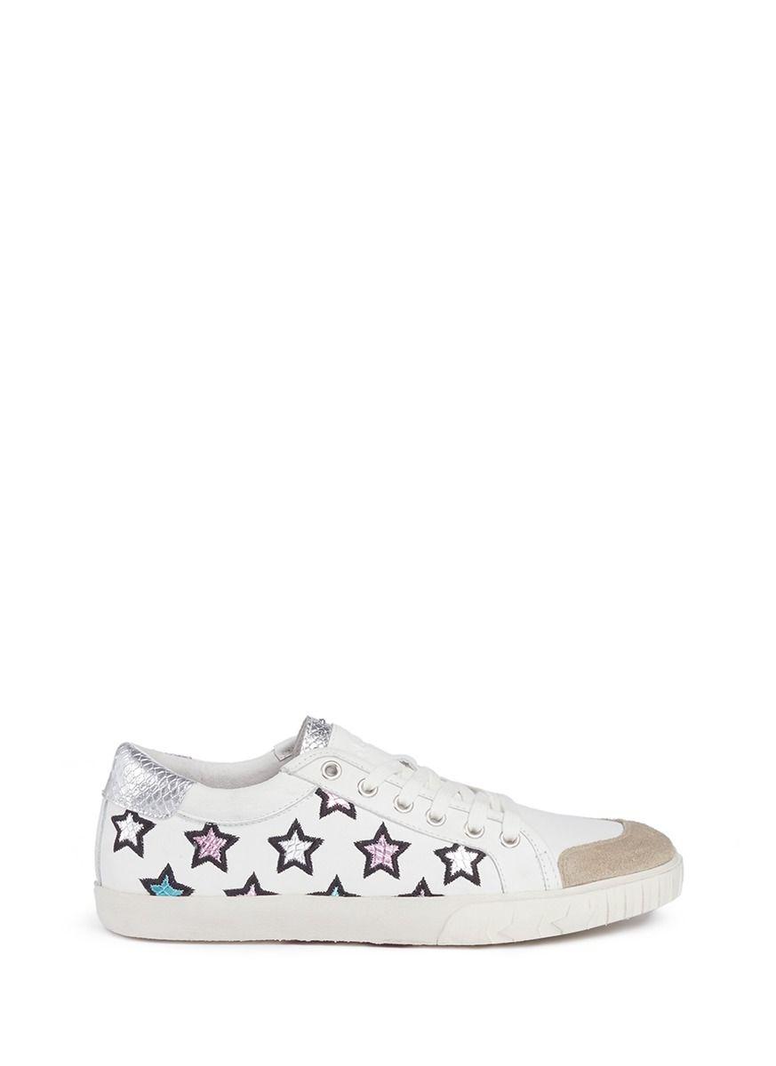 star appliqué sandals - Metallic Ash tiPrwbU