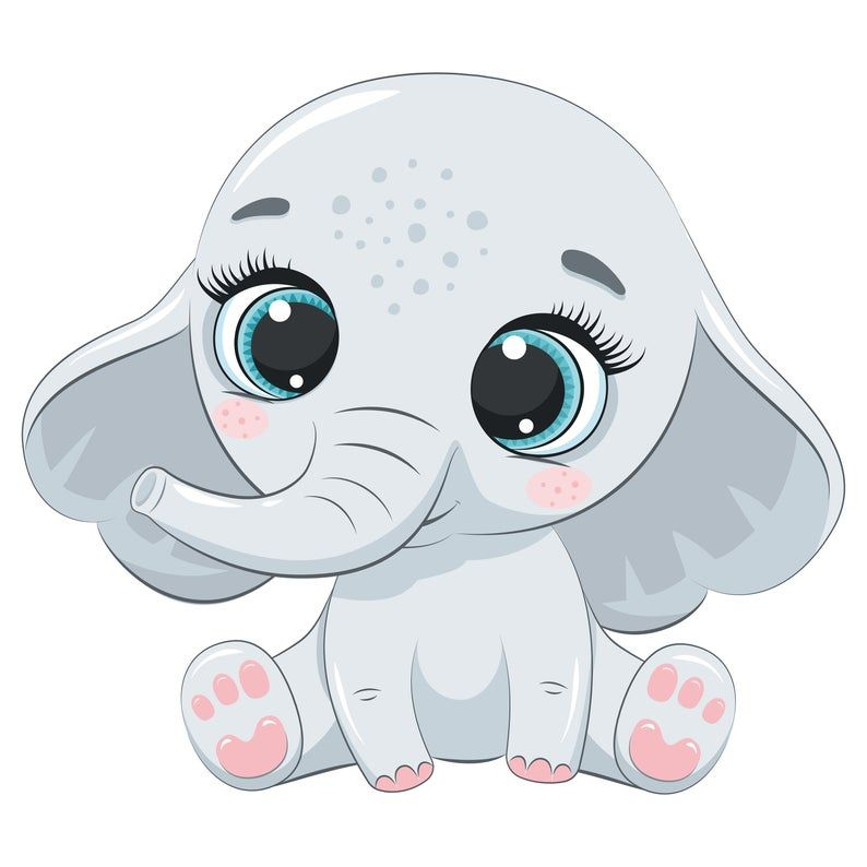 Cute Zoo Animals Clipart Png Eps Australian Animals Clipart Jungle Baby Shower Tropical Flamingo Clipart Elephant In 2020 Animal Clipart Cartoon Baby Animals Baby Animal Drawings