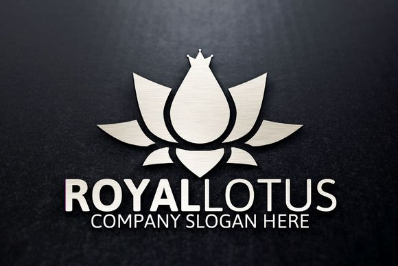 Royal Lotus by josuf on Creative Market