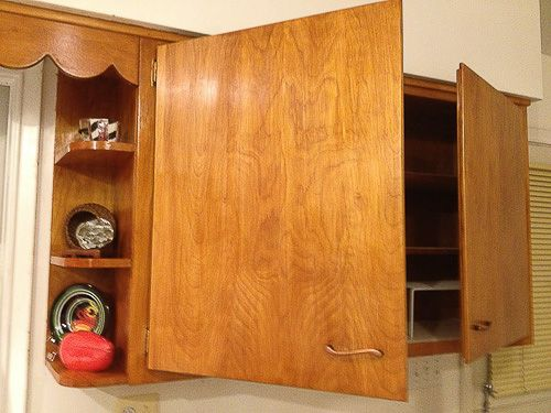 How To Strip Cabinets To Restore Their Finish. These Are The Same Cabinets  In Our House!