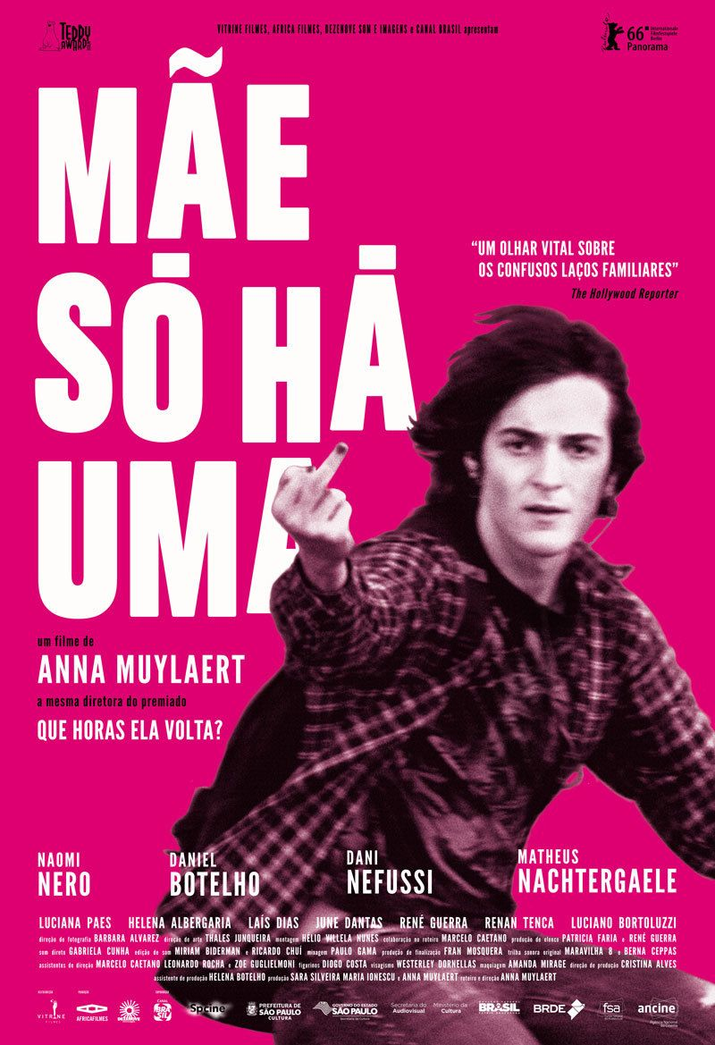 Brazilian poster for DON'T CALL ME SON (Anna Muylaert