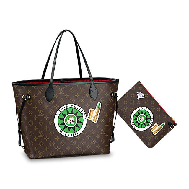 d78e20f51195 Louis Vuitton Neverfull MM My World Tour Bag