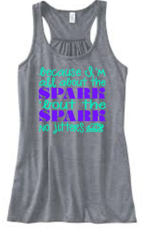 Advocare Tank  All About The SPARK  Promote by CorbinsCloset