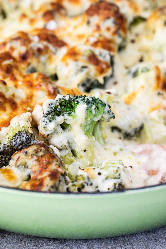 Cheesy Brokkoli backen - Rezepte #thanksgivingrecipessidedishes