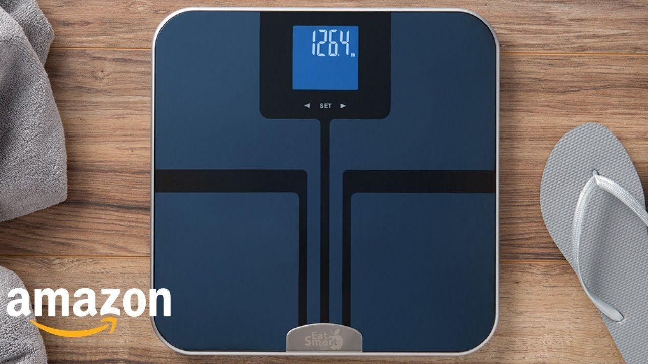 Top 5 Eatsmart Precision Digital Bathroom Scale With Extra Large Lighte 5gt Tech Amazon Gadgets T Digital Scale Bathroom Bathroom Scale Unique Gadgets