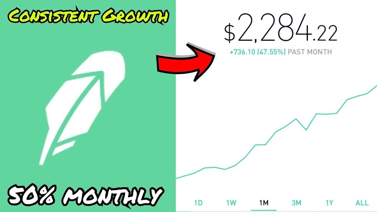 How To Consistently Grow Your Robinhood Account 2018