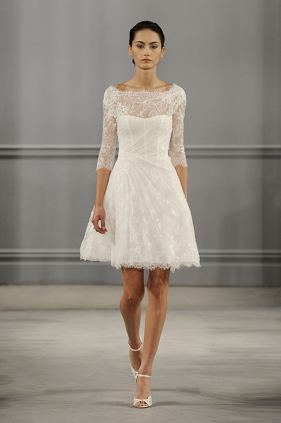 Long wedding reception dresses for the bride  The Weirdest Trends From the Spring Bridal Shows  Monique lhuillier