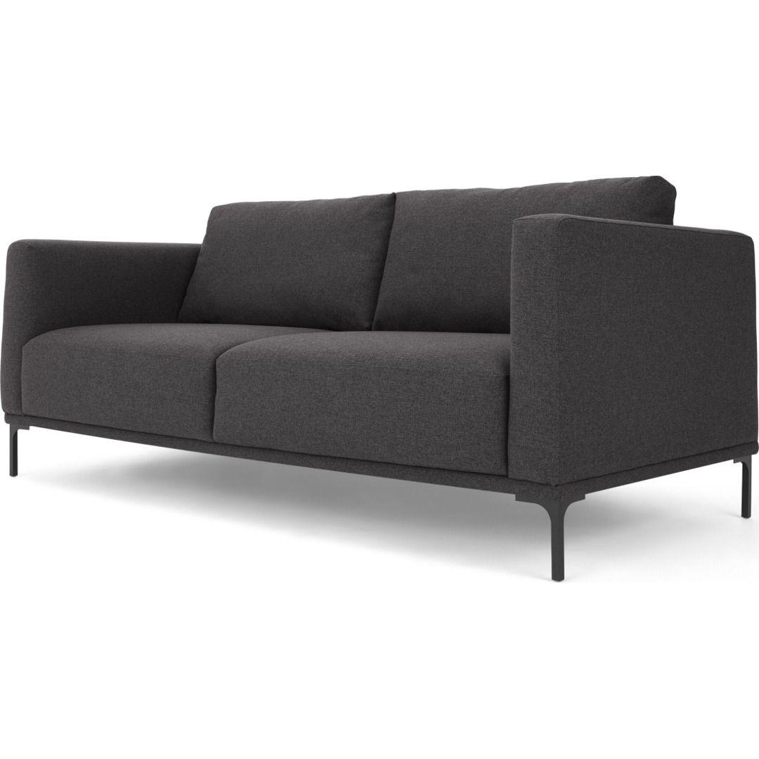 Milo 2 Sitzer Sofa Lavagrau In 2020 Sofa Furniture Couch