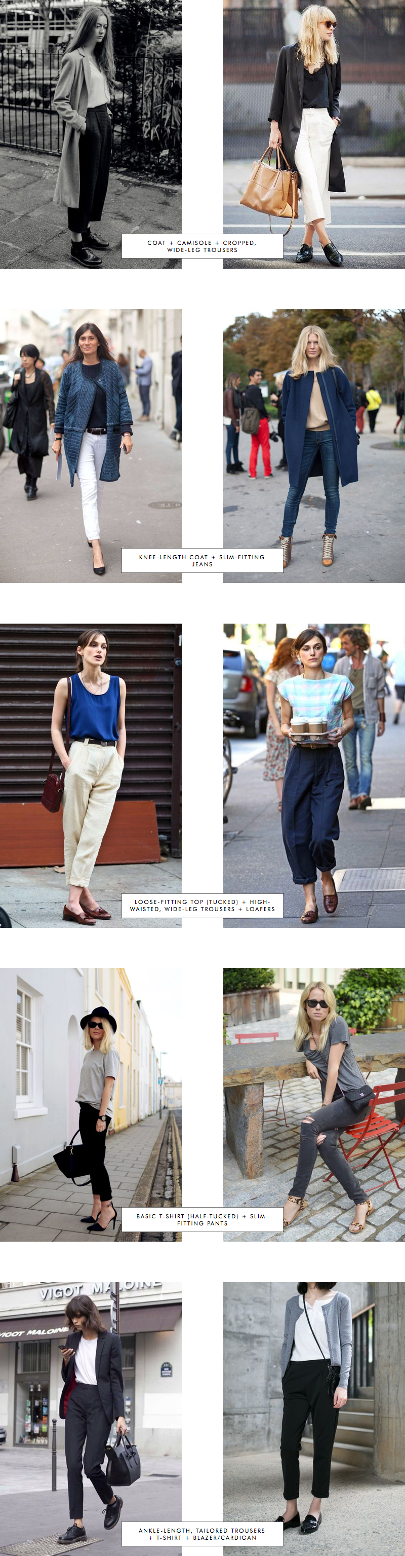 Proportions Catalogue Spring Edition: Trousers Part 1|| from INTO MIND