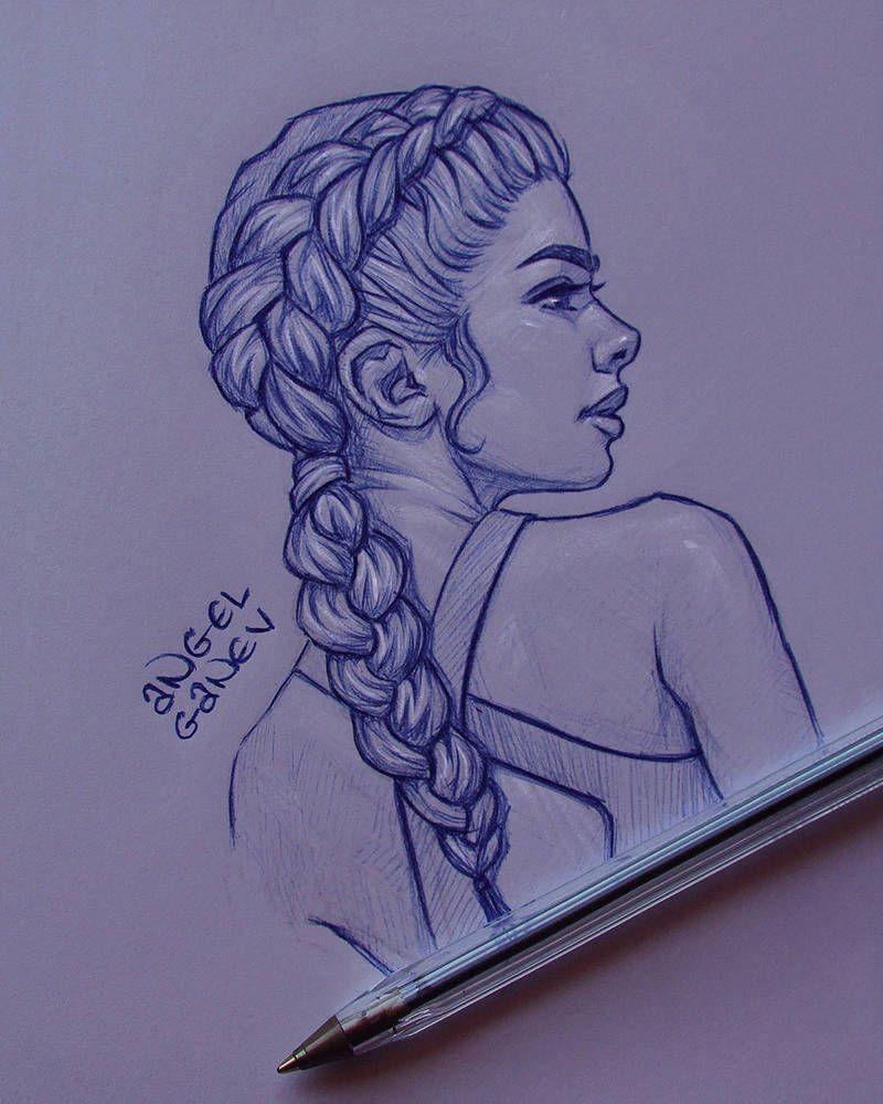 Pen Sketch Iii Day 83 By Angelganev Art Drawings Sketches Simple Art Drawings Sketches Creative Cool Art Drawings