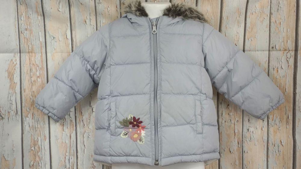 8505635de Details about GUC Girls Toddler Old Navy Winter Jacket Pink Hooded ...