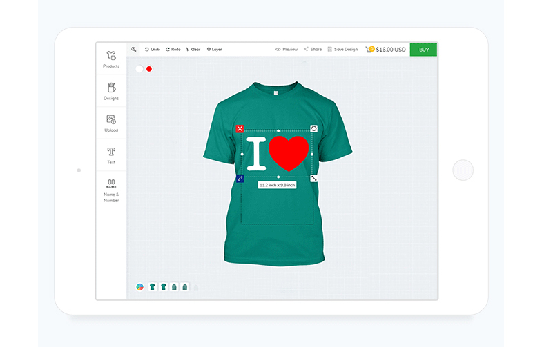 T Shirt Design Software T Shirt Customization Tool Inkxe T Shirt Design Software Software Design Tshirt Designs