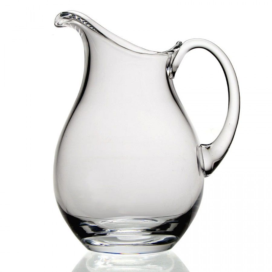 classic water pitcher  pint  william yeoward crystal  kitchen  - classic water pitcher  pint  william yeoward crystal