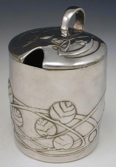 Archibald Knox for Liberty & Co. Pewter Jam Pot