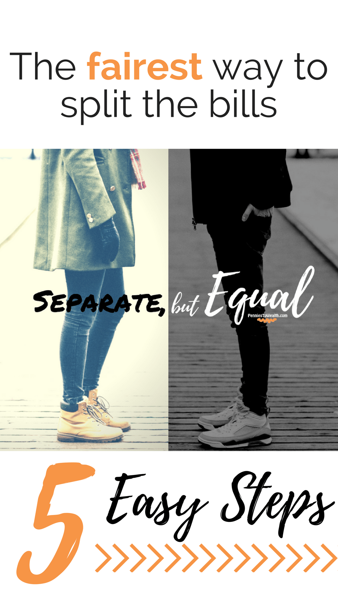 Separate But Equal How Couples Can Split The Bills